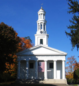 First Congregational Church on the historic Madison green