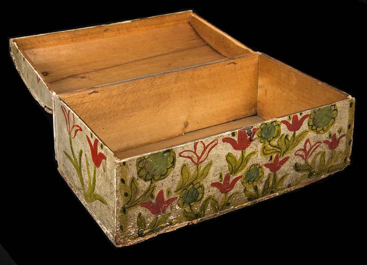 painted document box-3