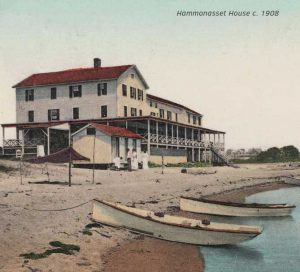 Hammonassett House postcard, 1908