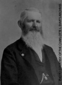 Photo portrait of founding member of the Madison Historical Society