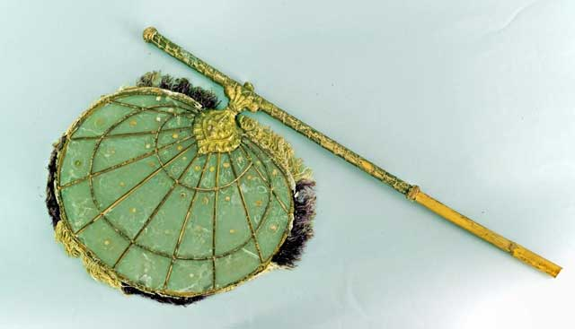 etched-celluloid-fan-with-fur-fringe